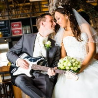 Bruiloft Will en Romana