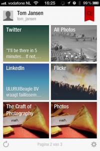 Een voorbeeld van mijn Flipboard